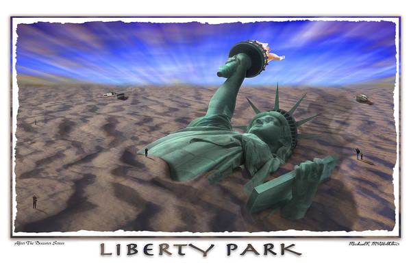 Pop Surrealism Wall Art - Photograph - Liberty Park by Mike McGlothlen