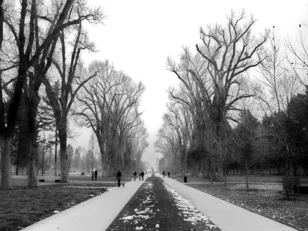 Photograph - Liberty Park Walkway by Tarey Potter