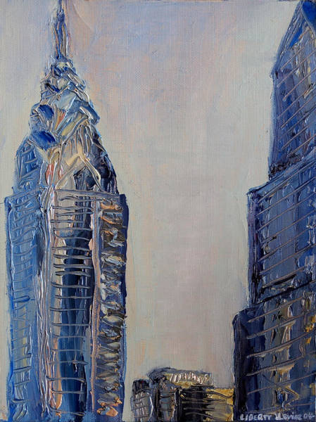 Philae Painting - Liberty Place by Joseph Levine