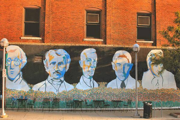 Wall Art - Photograph - Liberty Street Mural by Pat Cook