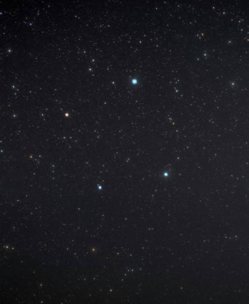 Chela Wall Art - Photograph - Libra Constellation by Tony & Daphne Hallas/science Photo Library
