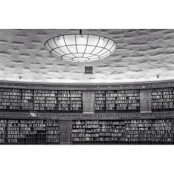 Design Photograph - Library by Karim Taib