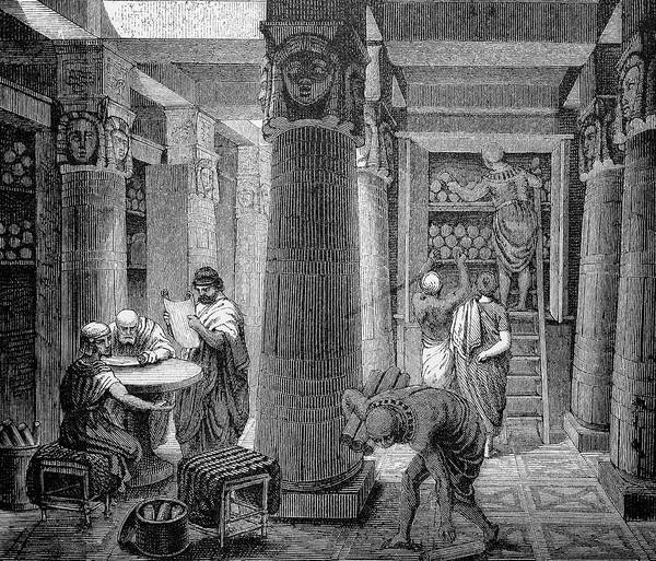 Catalog Photograph - Library Of Alexandria by Bildagentur-online/th Foto/science Photo Library