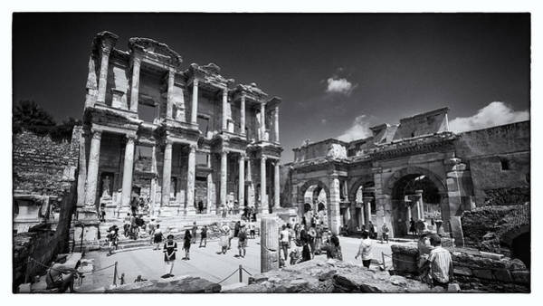Wall Art - Photograph - Library Of Celsus - Ephesus by Stephen Stookey