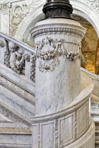 Photograph - Library Of Congress Cherubs by Susan Candelario