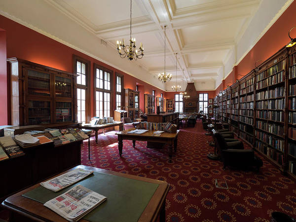 Johannesburg Wall Art - Photograph - Library Of The Rand Club, Loveday by Panoramic Images