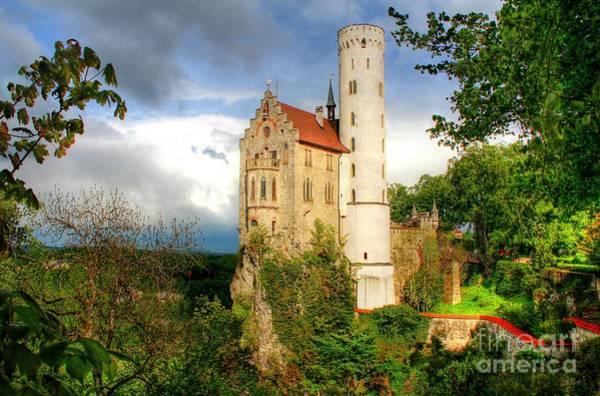 Lichtenstein Castle Swabian Alb Germany Art Print