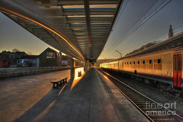 Wall Art - Photograph - Liege Station Sunrise  by Rob Hawkins