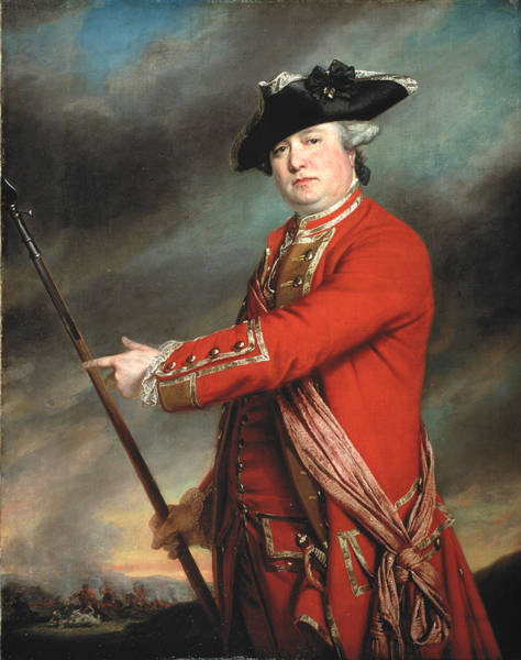 Lance Painting - Lieutenant Colonel Francis Smith 1764 by Francis Cotes