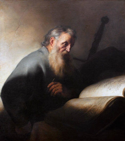 Wall Art - Painting - Lievens Apostle Paul, C1627-29 by Granger
