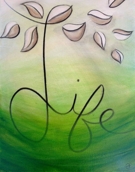 Painting - Life by Anna Elkins