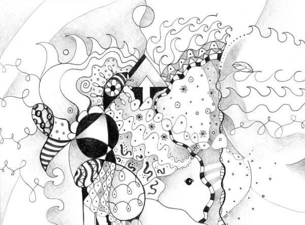 Drawing - Life As One by Helena Tiainen