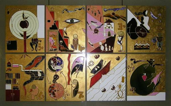 Painting - Life Cycle by Ray Khalife