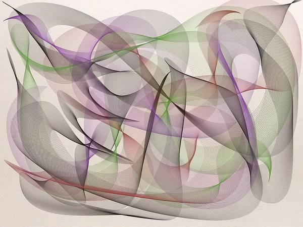Digital Art - Life Dance by Marian Palucci-Lonzetta