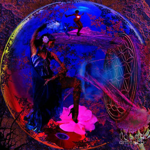 Ra Digital Art - Life Dancer by Joseph Mosley