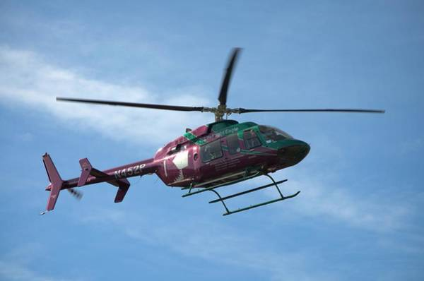 Photograph - Life Flight Eagle Helicopter by Tim McCullough