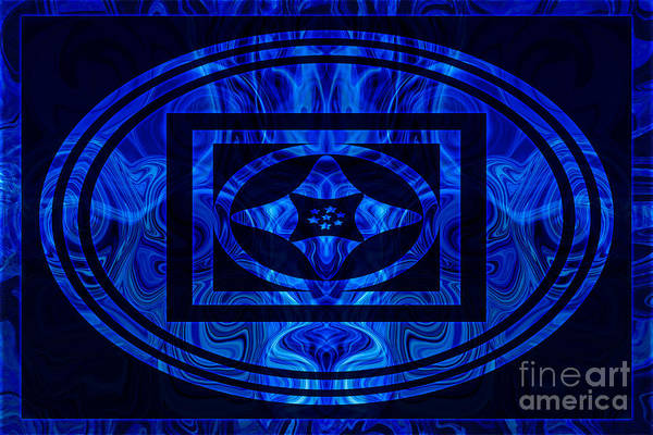 Digital Art - Life Force Within Abstract Healing Artwork by Omaste Witkowski