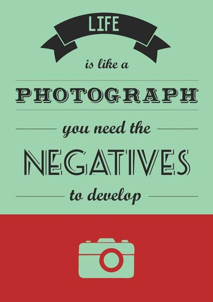 Wall Art - Digital Art - Life Inspirational Quotes Typography Quotes Poster by Lab No 4 - The Quotography Department
