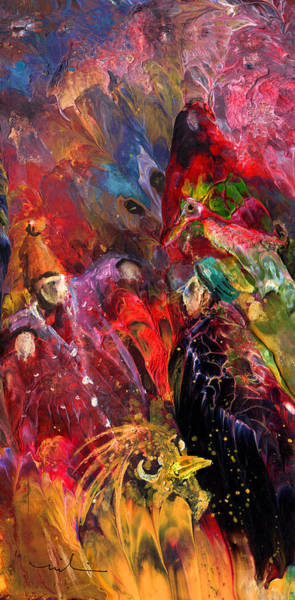 Painting - Life Is A Carnival 02 by Miki De Goodaboom
