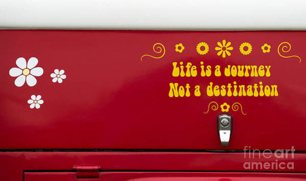 Motorhome Wall Art - Photograph - Life Is A Journey by Tim Gainey