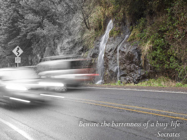 Photograph - Life Moves Pretty Fast by HW Kateley