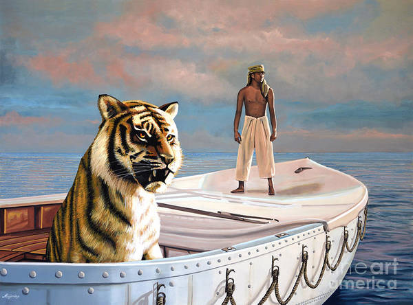 Wall Art - Painting - Life Of Pi by Paul Meijering