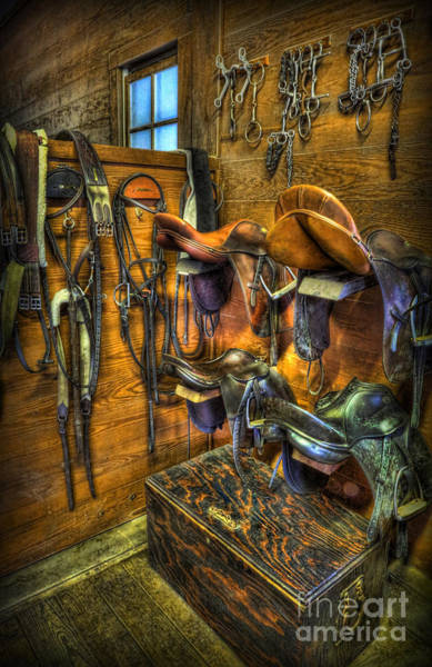 Wall Art - Photograph - Life On The Ranch - Tack Room by Lee Dos Santos