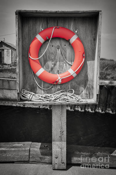 Wall Art - Photograph - Life Saver by Elena Elisseeva