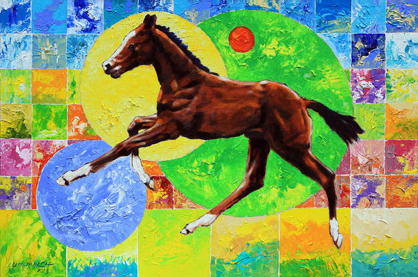Wall Art - Painting - Life Springs Eternal by John Lautermilch