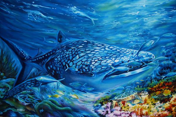Nigeria Painting - Life Undersea by Olaoluwa Smith