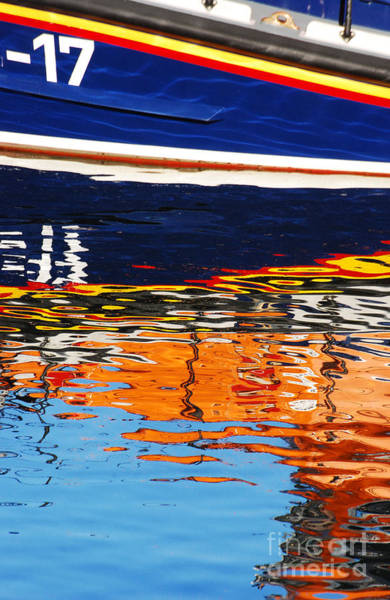 Dunmore East Photograph - Lifeboat Reflections by Joe Cashin