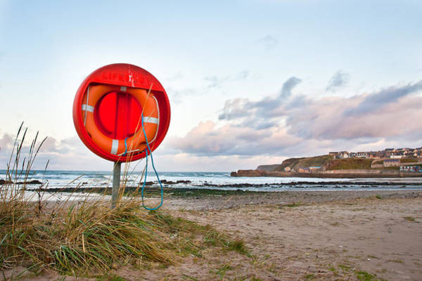Drown Photograph - Lifebuoy by Tom Gowanlock