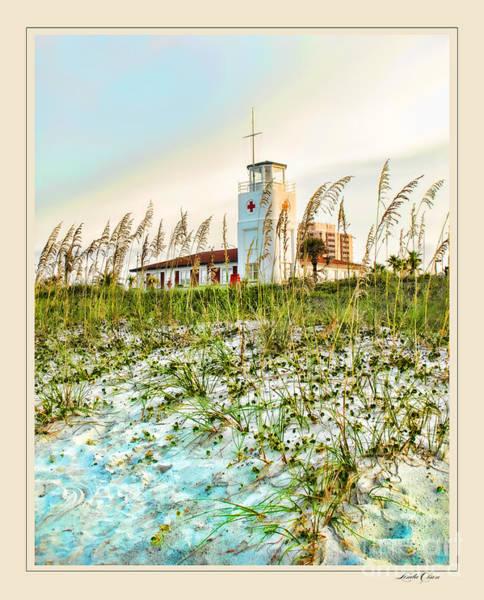 Lifeguard Station At Dusk Art Print