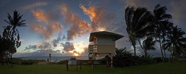 Kihei Photograph - Lifeguard Tower  by James Roemmling
