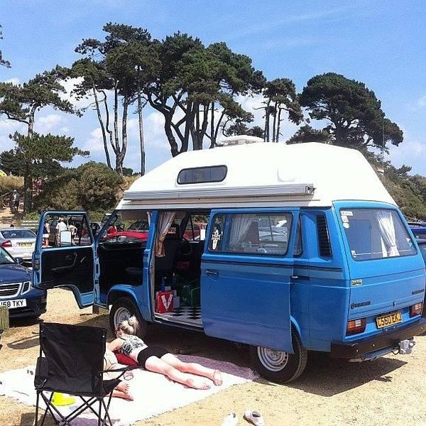 Vw Camper Photograph - Life's A Beach #camper #vw #vwcamper by Ash Hughes