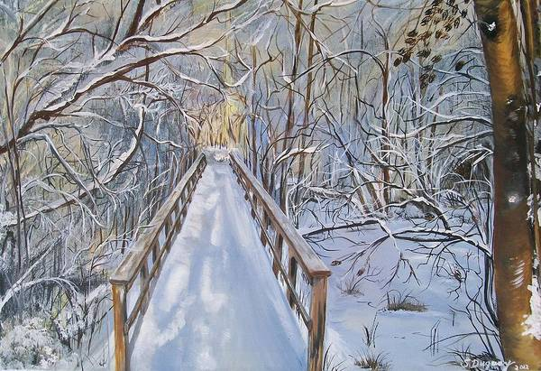 Painting - Life's  Path by Sharon Duguay