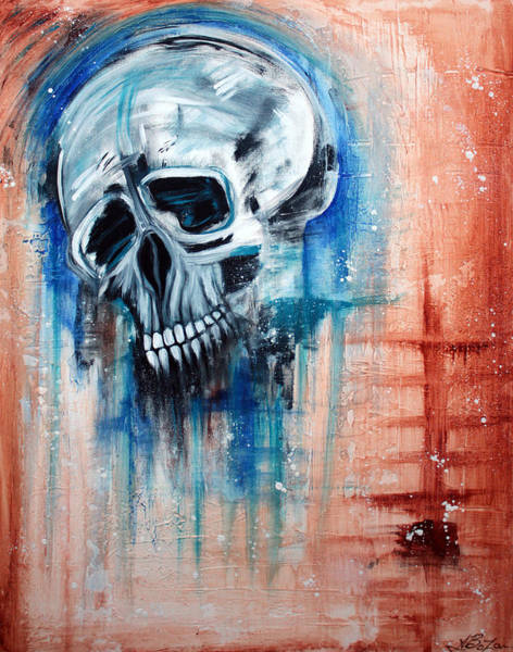 Wall Art - Painting - Lifes True Face by Laura Barbosa