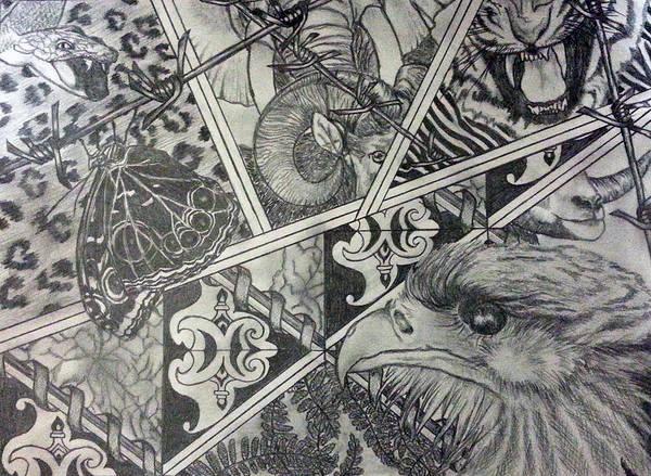 Wall Art - Drawing - Lifes by Vanny Sok