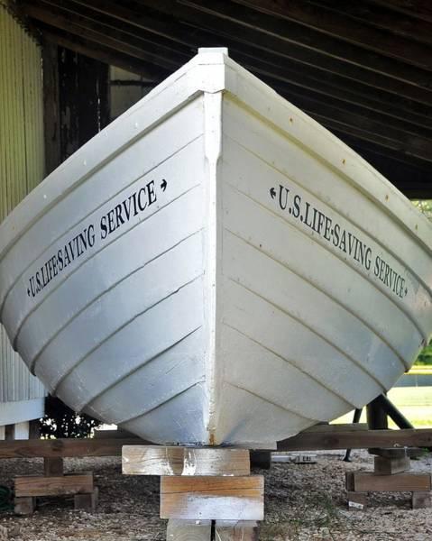 Photograph - Lifesaving Boat by Kim Bemis
