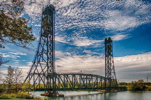 Photograph - Lift Bridge 3d21789 by Guy Whiteley