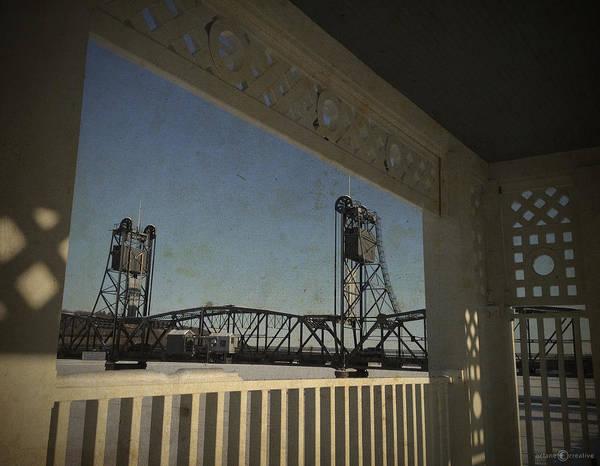 Photograph - Lift Bridge Gazebo by Tim Nyberg