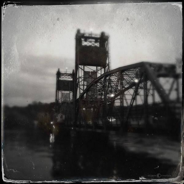 Photograph - Lift Bridge Last Of April by Tim Nyberg