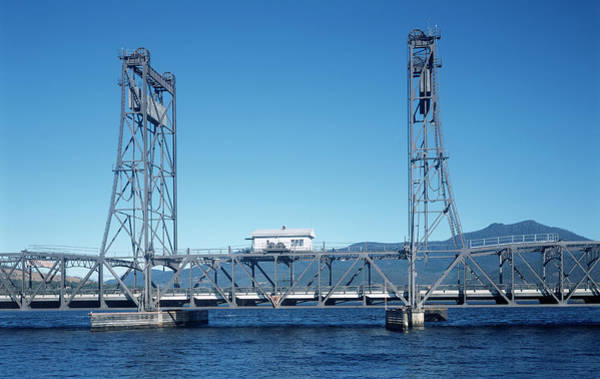 Lifting Photograph - Lifting Bridge by Alex Bartel/science Photo Library