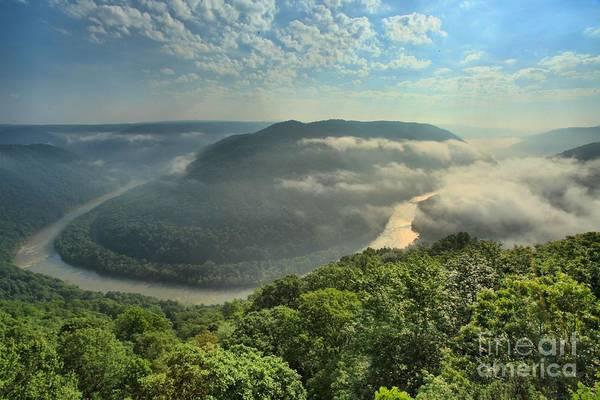 Photograph - Lifting Fog by Adam Jewell