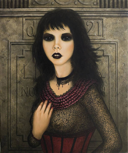 Painting - Ligeia by John Silver