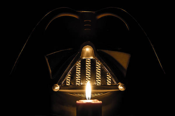 Darkside Photograph - Light A Candle For The Dark Side by Randy Turnbow