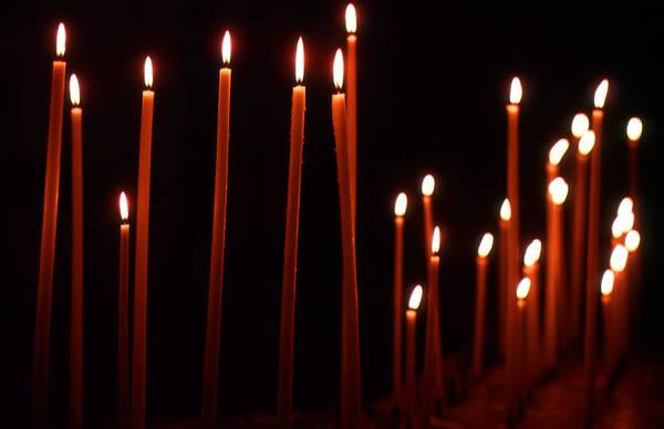 Light A Candle Say A Prayer Art Print