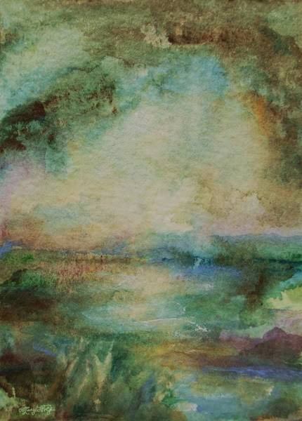 Painting - Light After The Storm by Mary Wolf