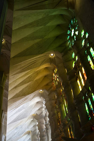 Photograph - Light And Color Of The Sagrada Familia by Lorraine Devon Wilke
