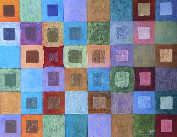 Wall Art - Painting - Light And Colour Breathing by Jennifer Baird